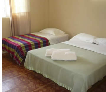 Private Bedroom at Hostal Gaia